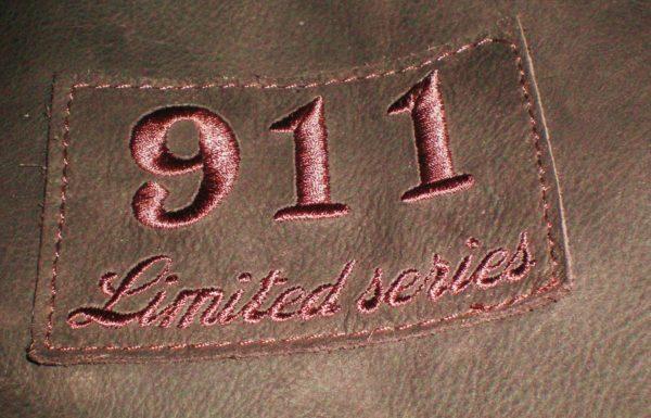 BLOUSON PILOTE CUIR 911 EDITION LIMITEE