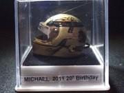 "Serie Casques miniature 1/12 e""me Champions du monde F1"